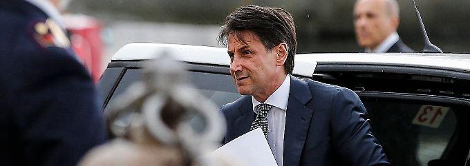 Giuseppe Conte bekommt den Auftrag zur Regierungsbildung.