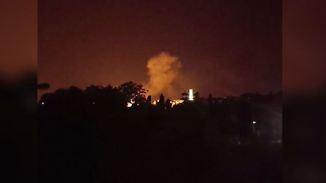 Gefahr gebannt: Fliegerbombe in Dresden detoniert zum Teil