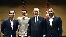 Das Treffen im Mai sorgte für einen Eklat um die Nationalmannschaft.