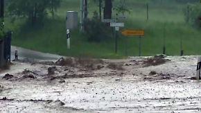 150 Liter Regen binnen Stunden: Heftige Unwetter überfluten Sachsen