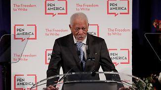 Nächster Hollywoodstar unter Verdacht: Acht Frauen werfen Morgan Freeman sexuelle Belästigung vor
