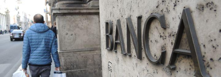 Für einige südeuropäische Banken könnte die Lira-Lirse zu einem Problem werden.