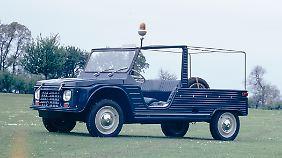 Der Citroen Mehari wurde auch als Einsatzfahrzeug genutzt.