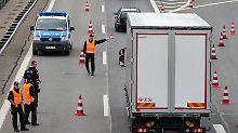 Kampf gegen Kriminalität: Herrmann hält Grenzkontrollen für notwendig