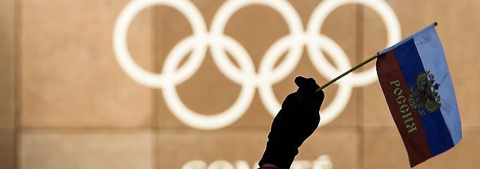 Brief an Wada: Russland gesteht Doping ein