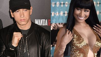 Promi-News des Tages: Nicki Minaj schürt Dating-Gerüchte mit Eminem