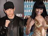 """""""Verdammt, ich auch"""": Eminem spricht über Nicki-Minaj-Gerüchte"""