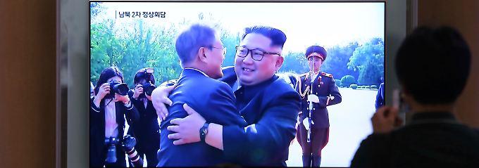 Nach Gesprächen mit Südkorea: Kim ist fest entschlossen Trump zu treffen