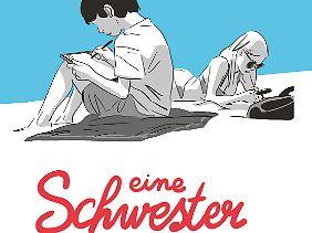 """""""Eine Schwester"""", erschienen bei Reprodukt, 216 Seiten, Hardcover, 24 Euro."""