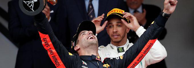 Probleme und Reifenpoker: Ricciardo erkämpft sich Monaco-Krönung