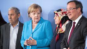 25 Jahre Brandanschlag von Solingen: Merkel spricht auf Gedenkfeier