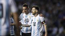 Bereits in WM-Form: Messis Dreier lässt Argentinien jubeln