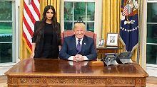 """Kim im Weißen Haus: """"Trump trifft Hinterteil"""""""