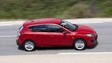 Der Mazda 3 sieht auch nach neun Jahren recht frisch aus.