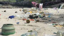 Müll im Meer: Die EU will dagegen etwas tun und plant, einige Plastikartikel zu verbieten.