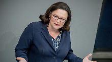 Kassenbeiträge im Kabinett: Nahles sieht GroKo in Fahrt kommen
