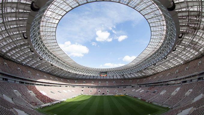 Die WM-Stadien im Porträt: Luschniki-Stadion in Moskau