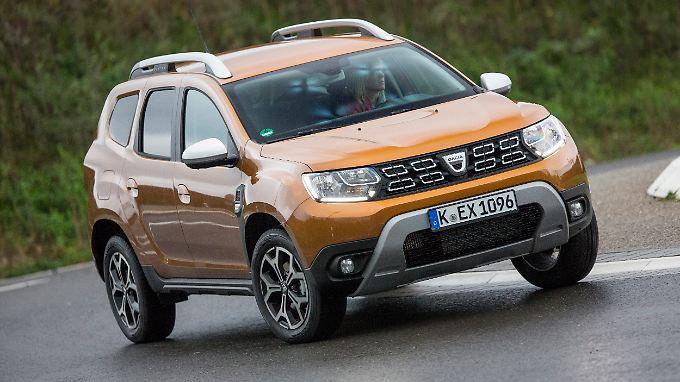 Der Dacia Duster bleibt auch in der Neuauflage das günstigste Kompakt-SUV mit Allrad.