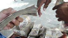 Inflation bei 13.000 Prozent: Venezuela kündigt Währungsschnitt an