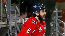 Capitals vor Stanley-Cup-Krönung: Owetschkin-Show lässt ewige Verlierer hoffen