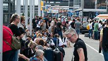 Folgenschwerer Stromausfall: Hamburger Flughafen stellt Betrieb ein