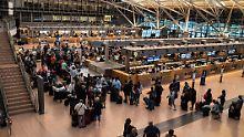 Nach dem großen Stromausfall: Flughafen Hamburg startet Flugbetrieb