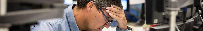 Der Börsen-Tag: 13:35 Dax rutscht immer tiefer in Verlustzone
