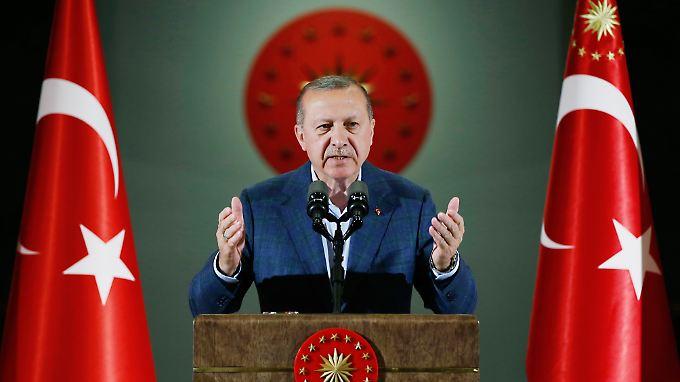 Die Lage der Wirtschaft zählt zu den wichtigsten Wahlkampfthemen: Präsident Recep Tayyip Erdogan.