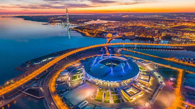 Die WM-Stadien im Porträt: Sankt-Petersburg-Stadion