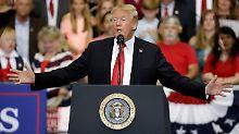 """Selbst-Begnadigung in Affäre: Trump pocht auf sein """"absolutes Recht"""""""