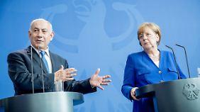 Anfang Juni haben Merkel und Netanjahu sich in Berlin getroffen.
