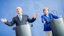 Netanjahu bei Merkel: Sie sind stets bemüht