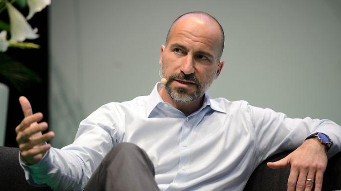Uber-Chef Dara Khosrowshahi auf der Digitalkonferenz  NOAH in Berlin.