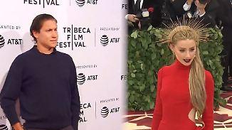 Promi-News des Tages: Amber Heard und Vito Schnabel zeigen ihr Liebesglück