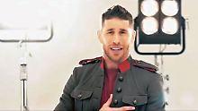 Ein Lied für Spanien: Raubein Ramos zeigt Herz
