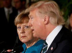 Neuer Vorwurf des US-Präsidenten: Merkel kontert Trumps Twitter-Attacke