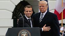 """""""Kein Anführer ist von Ewigkeit"""": Macron düpiert Trump bei Twitter"""