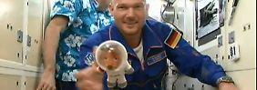 Zweites Mal im Weltraumlabor: Astronaut Alexander Gerst bezieht die ISS