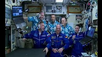 Astro-Alex wieder im All: Gerst und seine Crew schweben in die ISS
