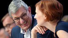 Wiederwahl als Vorsitzende: Kipping und Riexinger bleiben Linke-Chefs