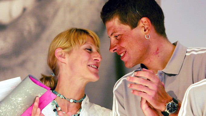 Es war einmal: Sarah und Jan im Jahr 2005 frisch verliebt.