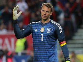 Manuel Neuer meldet sich fit für die WM.
