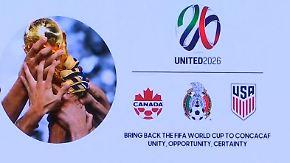 Vergabe der WM 2026: Amerikanisches Bündnis geht als Favorit ins Rennen