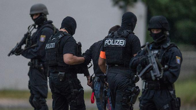 Ali B. wurde am Wochenende von Spezialkräften zurück nach Deutschland gebracht.