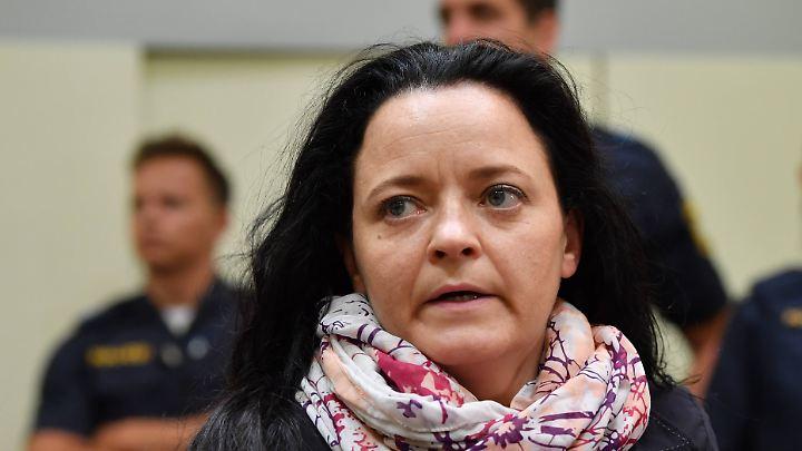 Vor dem Münchner Oberlandesgericht läuft der NSU-Prozess seit mehr als 400 Verhandlungstagen: Hauptangeklagte ist Beate Zschäpe.