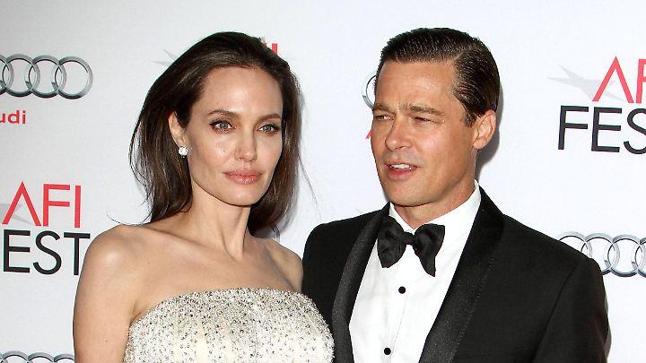 Da waren sie noch zusammen: Angelina Jolie und Brad Pitt.