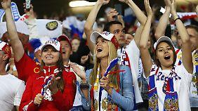 Die Abgeordnete fordert Russinnen auf, sich nur mit Russen fortzupflanzen.