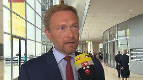 """Christian Lindner zum Asylstreit: """"Union wird dank windelweichem Kompromiss halten"""""""
