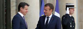 Conte und Macron mit Vorschlag: Asylzentren in Herkunftsländern gefordert
