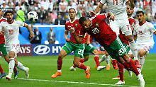 Iran bejubelt zweiten WM-Sieg: Bouhaddouz' Eigentor schockt Marokko